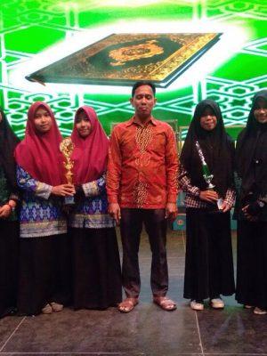 Juara 1, 2, & 3 Fahmil Quran MTQ2018