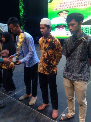 Juara 1, 2, & 3 Syarahan/Pidato Putra MTQ 2018