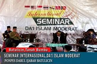 RISALAH BATULICIN (Hasil Rekomendasi Seminar Internasional Da'i Islam Moderat)